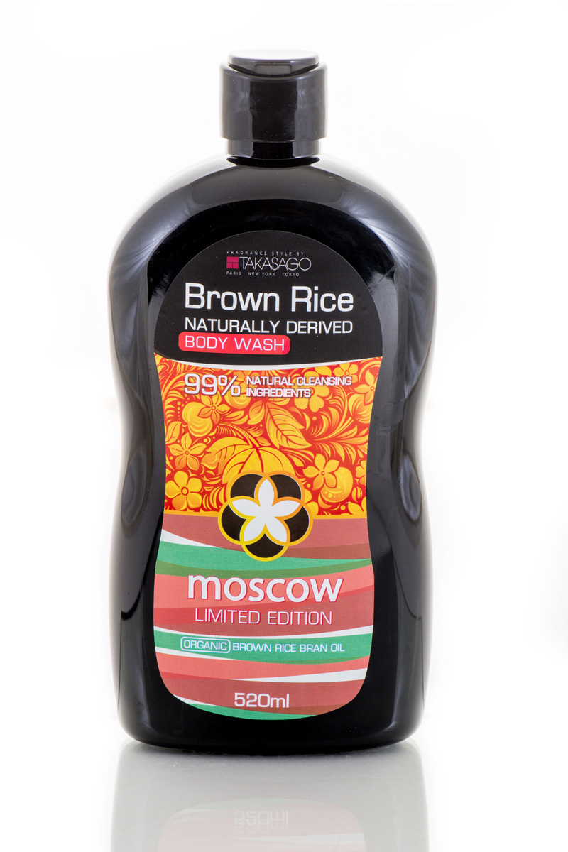 заказать и купить Brown Rice Гель для душа Moscow Naturally Derived, 520 мл