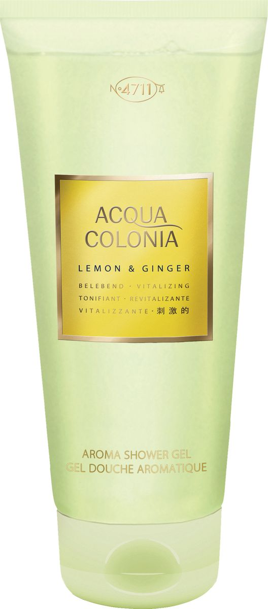 заказать и купить 4711 Acqua Colonia Vitalizing Lemon & Ginger Гель для душа, 200 мл