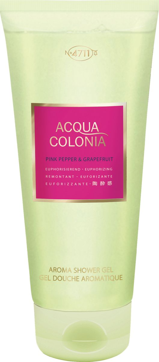 заказать и купить 4711 Acqua Colonia Euphorizing Pink Pepper & Grapefruit Гель для душа, 200 мл