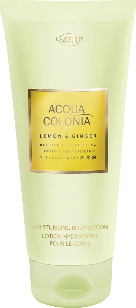 заказать и купить 4711 Acqua Colonia Vitalizing Lemon & Ginger Лосьон для тела, 200 мл