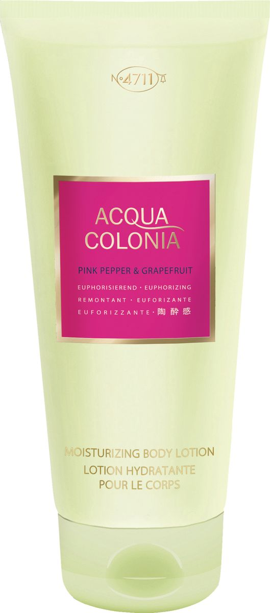 заказать и купить 4711 Acqua Colonia Euphorizing Pink Pepper & Grapefruit Лосьон для тела, 200 мл