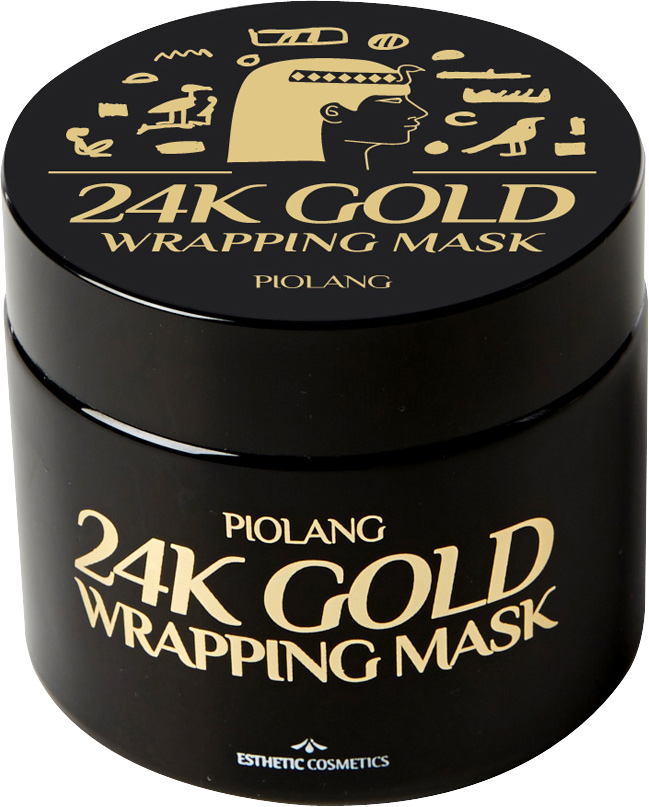 заказать и купить Esthetic House Маска для лица с 24-каратным золотом Piolang 24k Gold Wrapping Mask, 80 мл