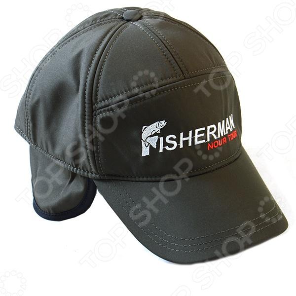 Утепленная кепка для рыбалки